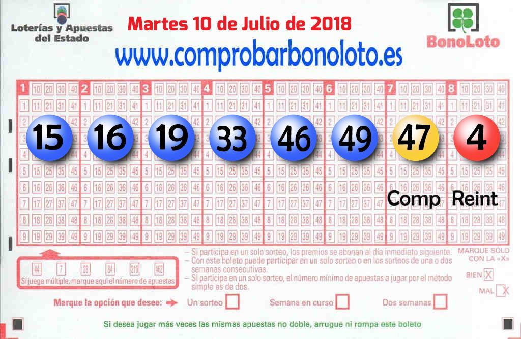 La Bonoloto deja mas de 56.000 euros en Santa Cruz De Tenerife (Santa Cruz de Tenerife)
