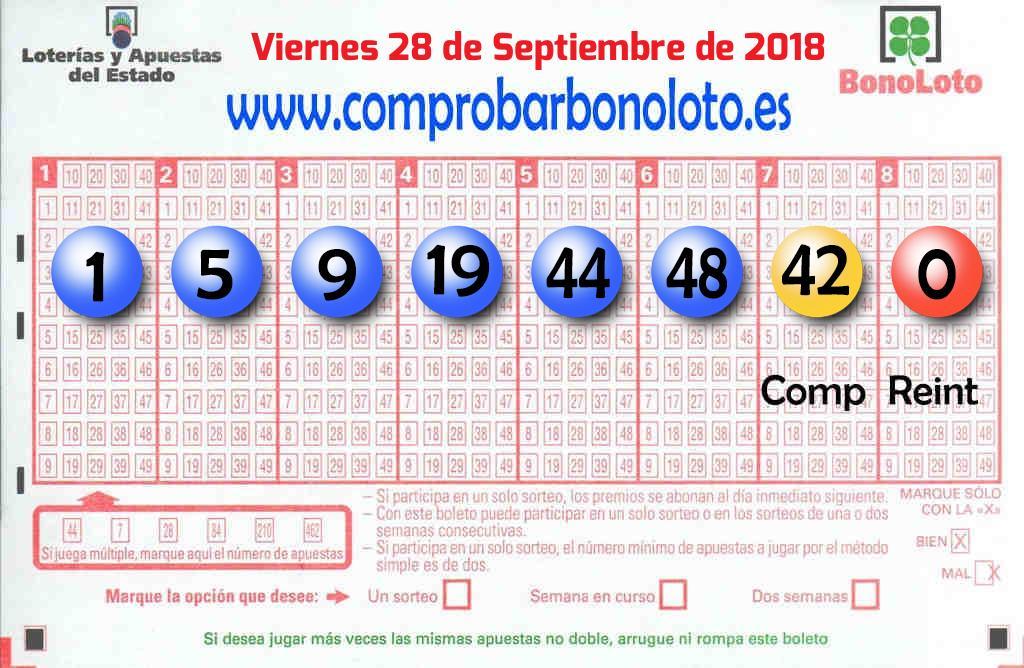 Un boleto de La Bonoloto deja  38.000 euros en Madrid