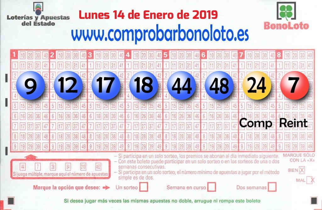 Un boleto de La Bonoloto deja  109.000 euros en La Paredilla
