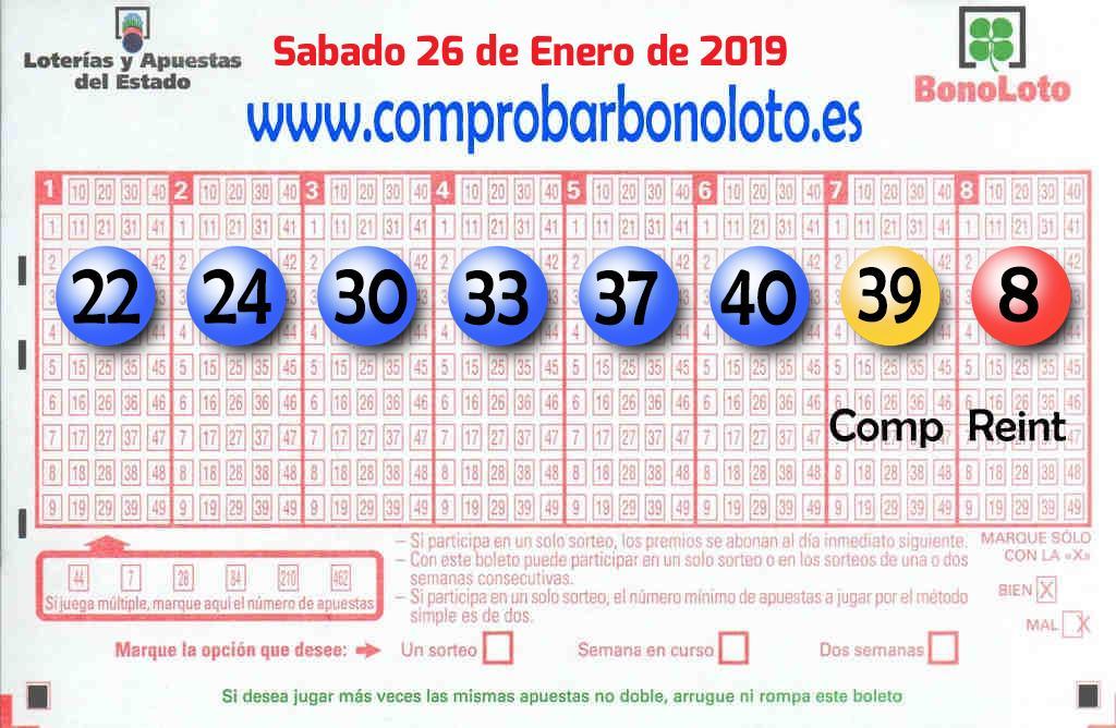 La Bonoloto de este Sábado reparte 84.000 euros en Poris De Abona