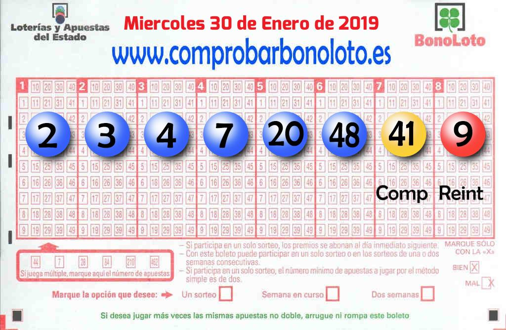 La Bonoloto. El segundo premio deja  63.000 euros en Ondara