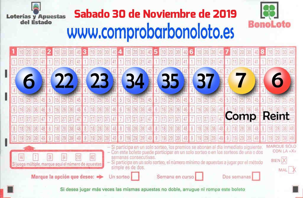 La Bonoloto de este Sábado reparte 28.000 euros en Golmayo