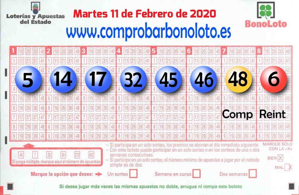 Sorteo de La Bonoloto del 11 de febrero: el segundo premio cae en Móstoles