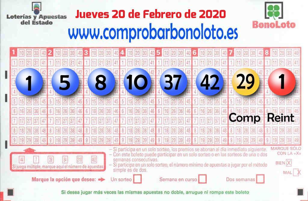 El segundo premio de La Bonoloto deja 40.000 euros en Zaragoza