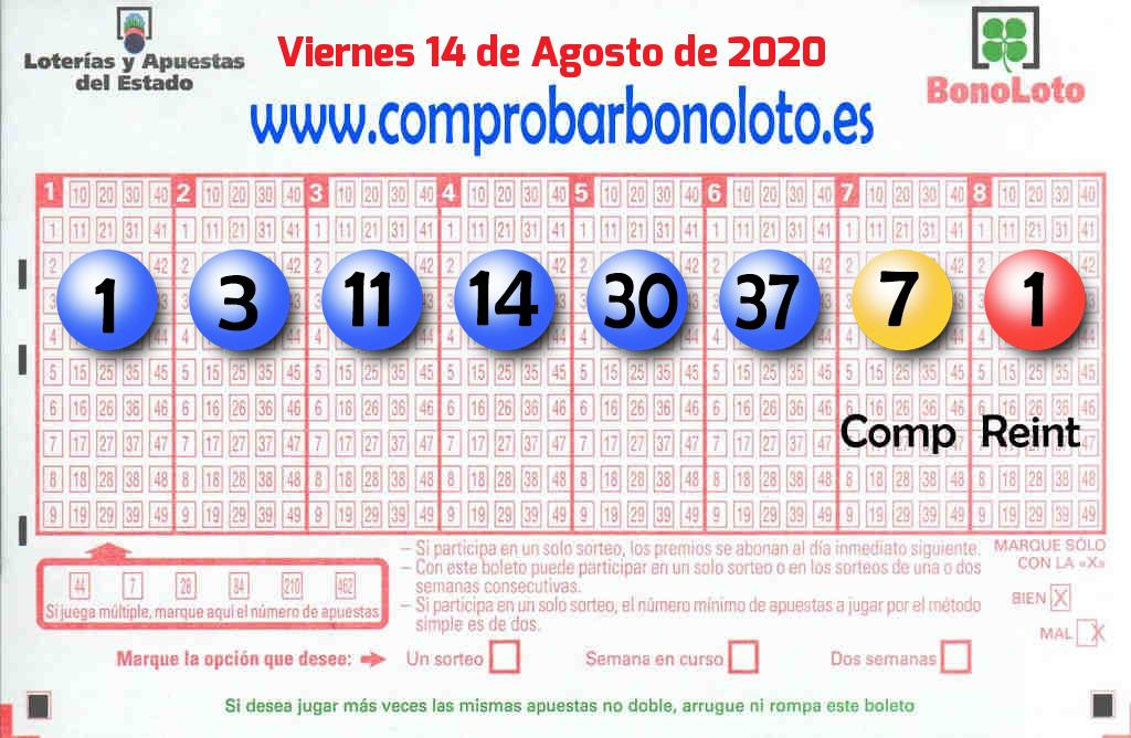 La Bonoloto. El segundo premio deja  90.000 euros en Bellvei