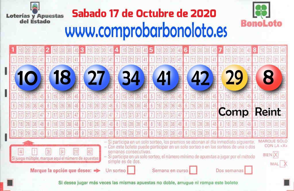El segundo premio de La Bonoloto deja 95.000 euros en Madrid