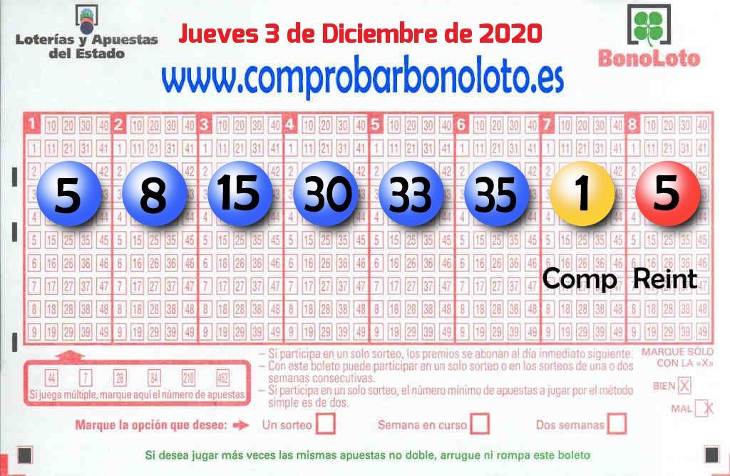 La Bonoloto. El segundo premio deja  179.000 euros en Ordes