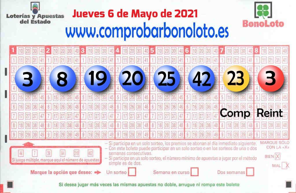 La Bonoloto reparte 98.000 euros en Olías Del Rey