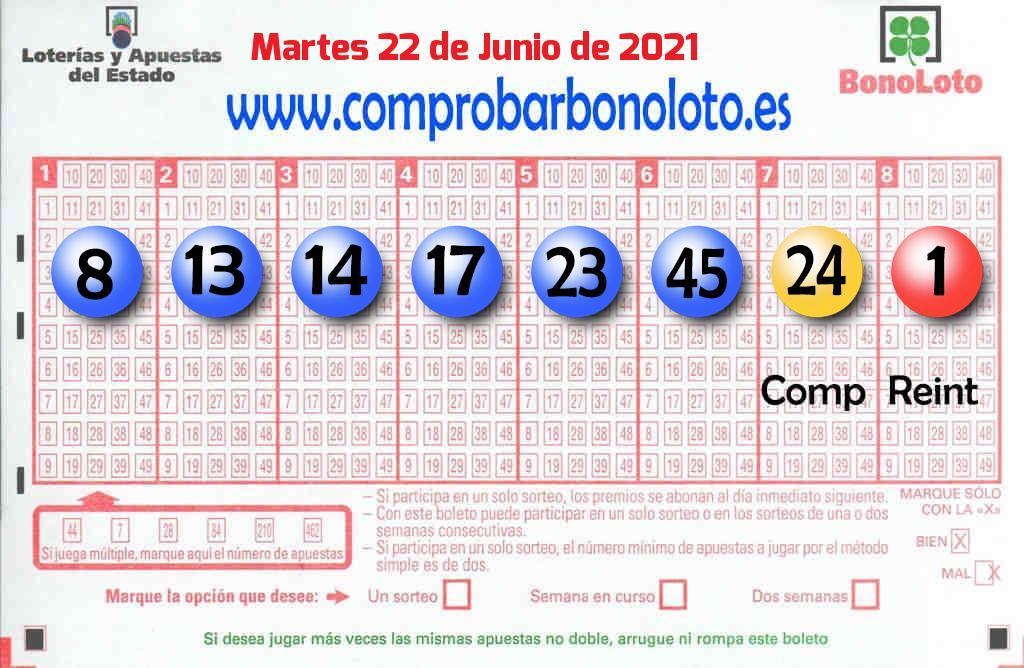 La Bonoloto. El segundo premio deja  76.000 euros en íscar