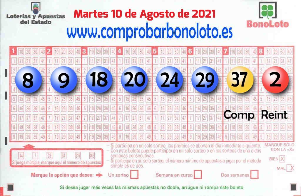 Un boleto de La Bonoloto deja  24.000 euros en Salamanca