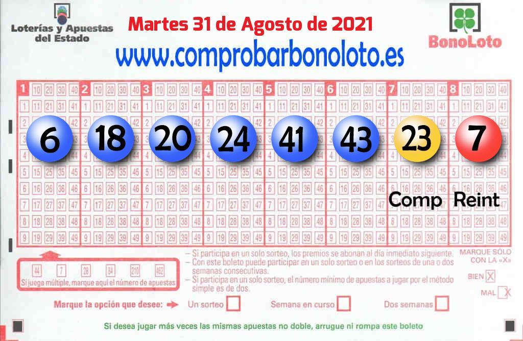 La Bonoloto deja un acertante de segunda categoría en Palencia este Martes
