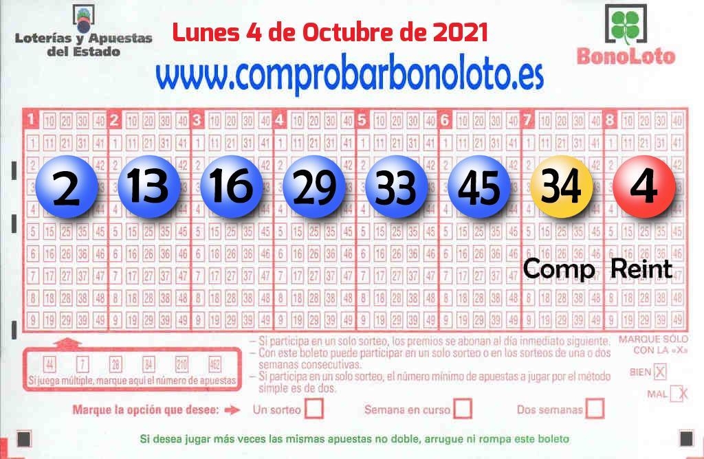 La Bonoloto de este Lunes reparte 193.000 euros en Madrid